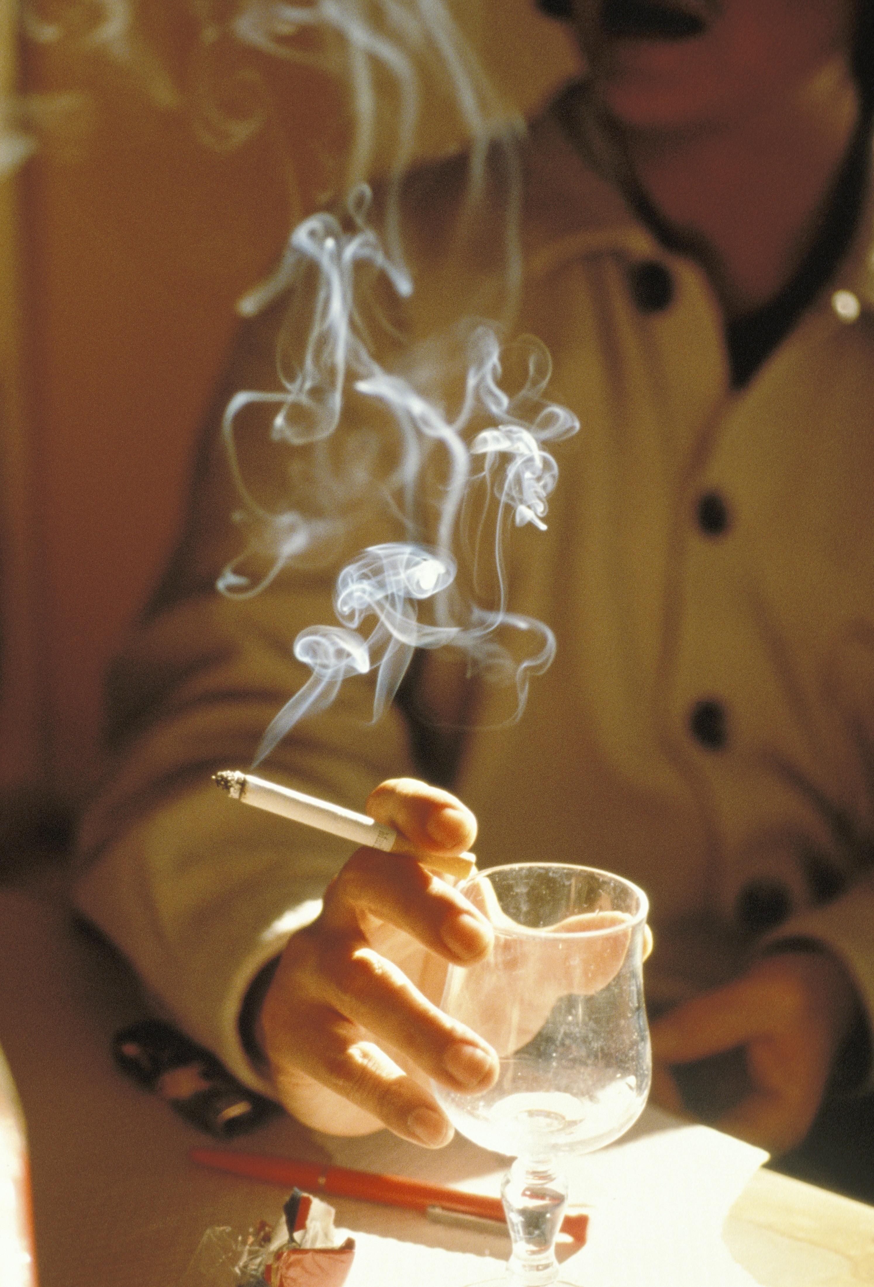 Per tosse quando smesso fumando