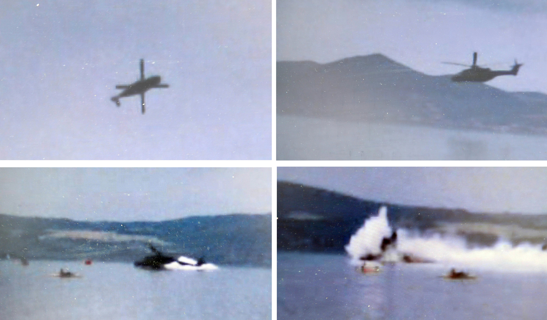 Elicottero Caduto Oggi : Elicottero militare cade nel lago di bracciano un morto