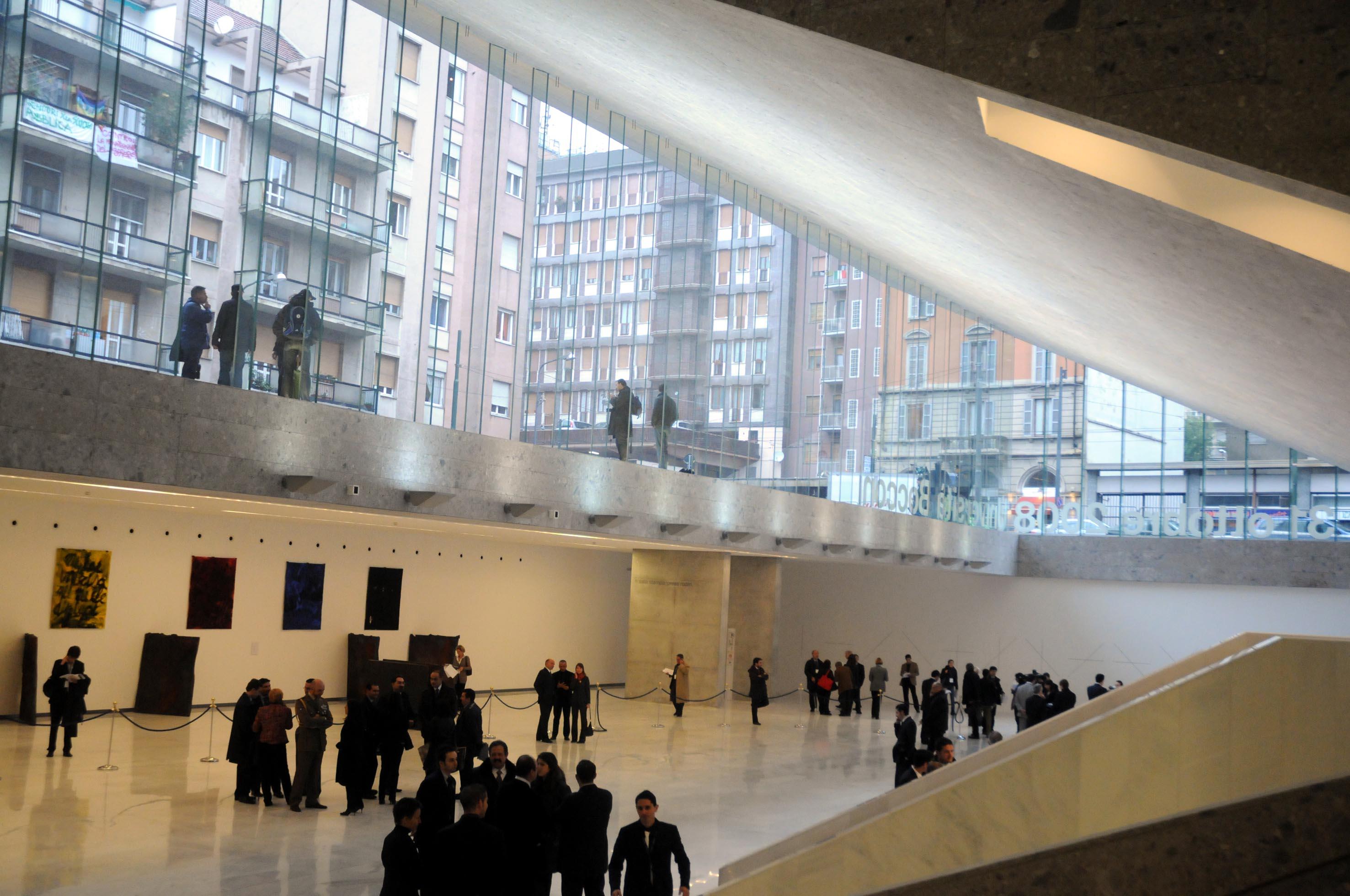 Bocconi inaugurata la nuova sede for Sede bocconi milano