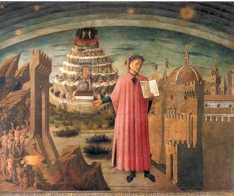 """Il Purgatorio di Dante? Il migliormodo per """"dipingere"""" l'Italia"""