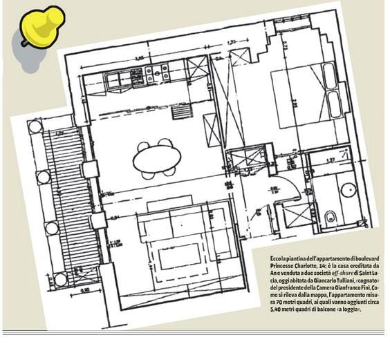 Montecarlo la mappa della casa smentisce fini for Creatore della mappa della casa