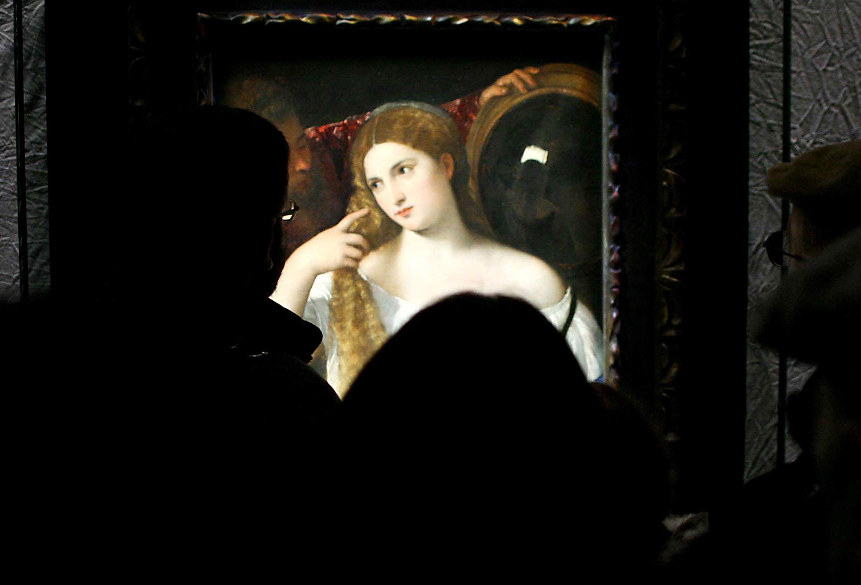 La donna allo specchio dal louvre a palazzo marino - Salute allo specchio ...
