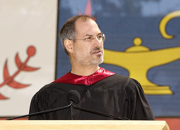 Risultato immagine per Steve Jobs, Discorso ai neolaureati di Stanford, 12 giugno 2005.