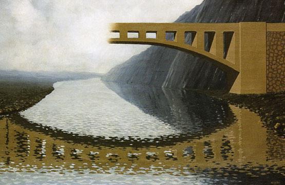 Quel magico ponte fra realt e illusione for Foto di ponti su case