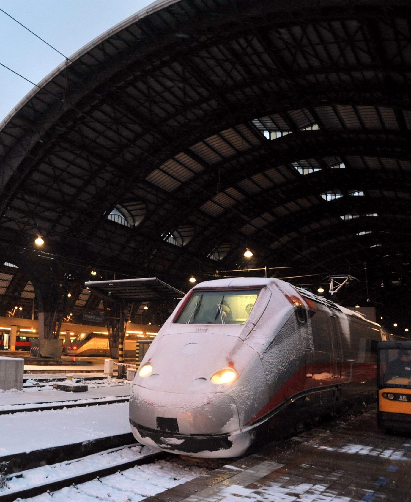 Cancellati 35 Treni Non è Colpa Del Gelo Ma Di Un Furto Di