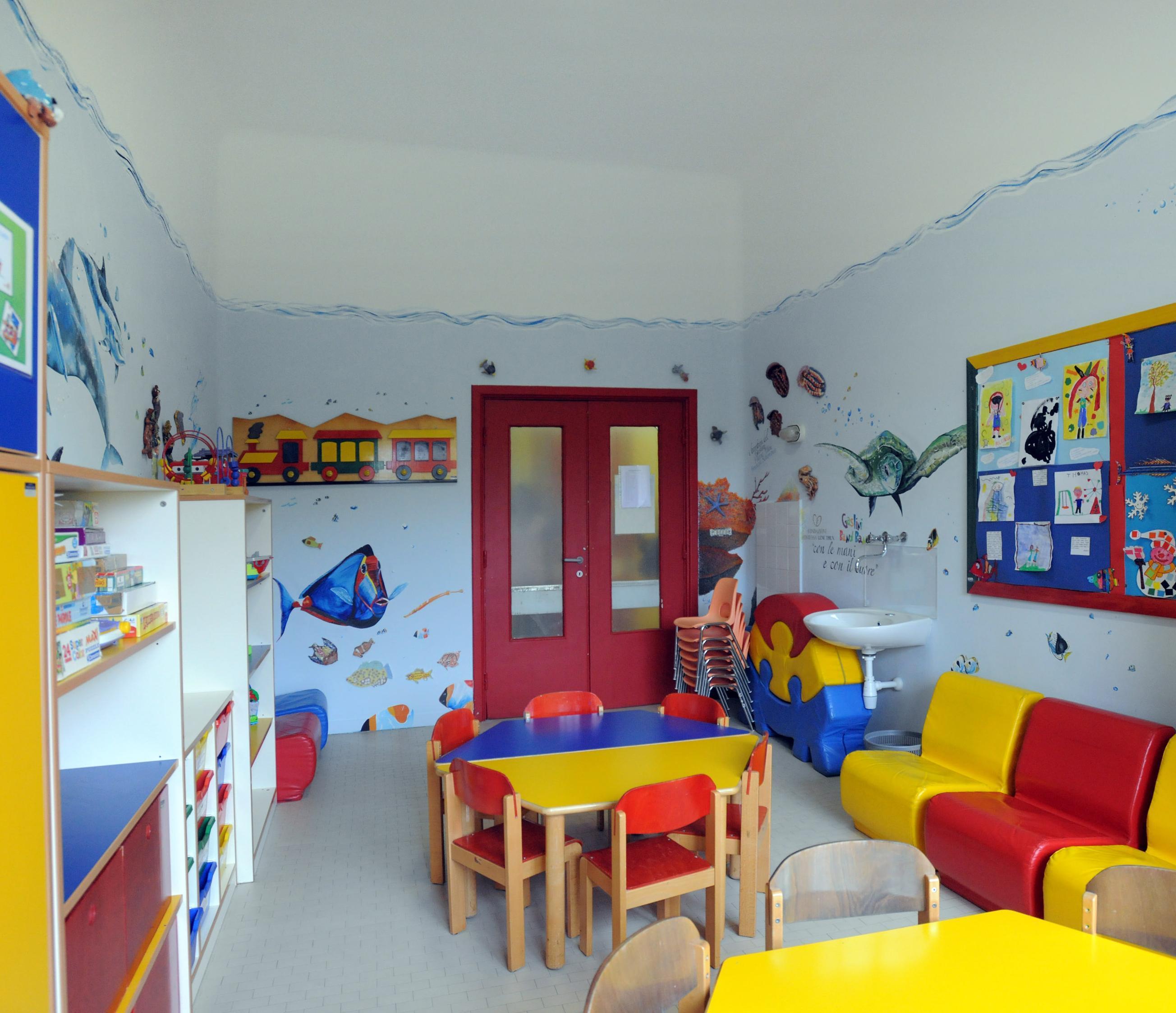 Metti una sala giochi all interno di un ospedale for All interno di una cabina
