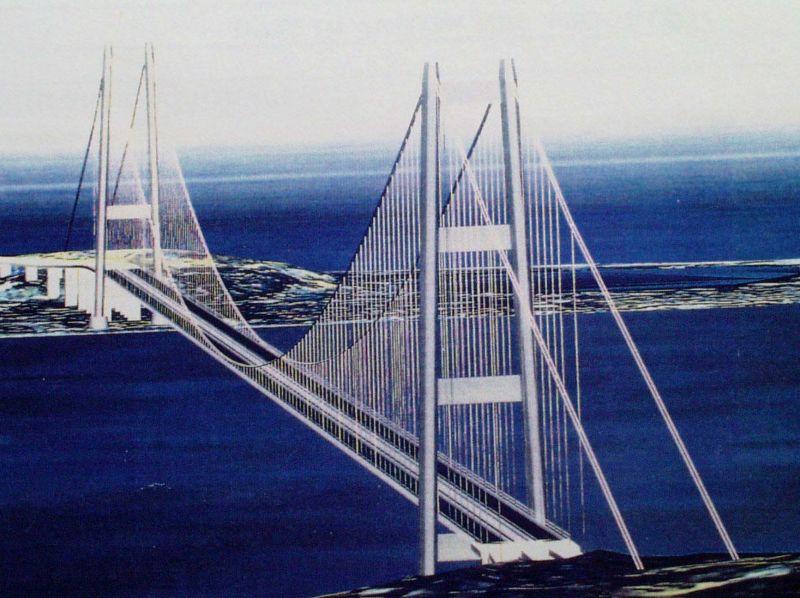 Impregilo rilancia il ponte sullo stretto fatecelo fare for Disegni di ponte anteriore