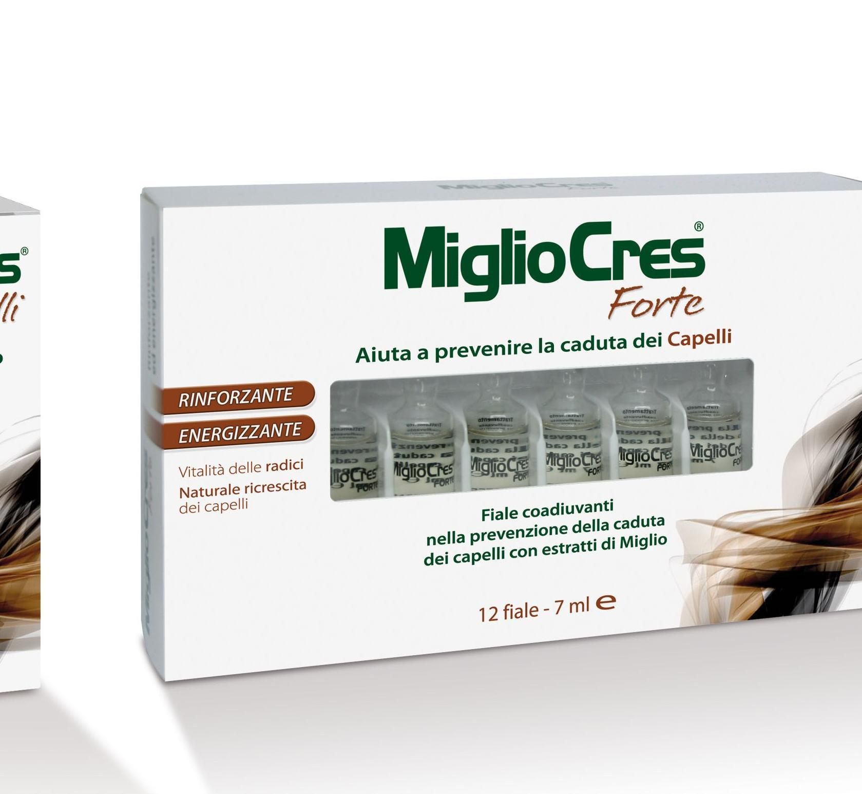 miglio per i capelli capsule