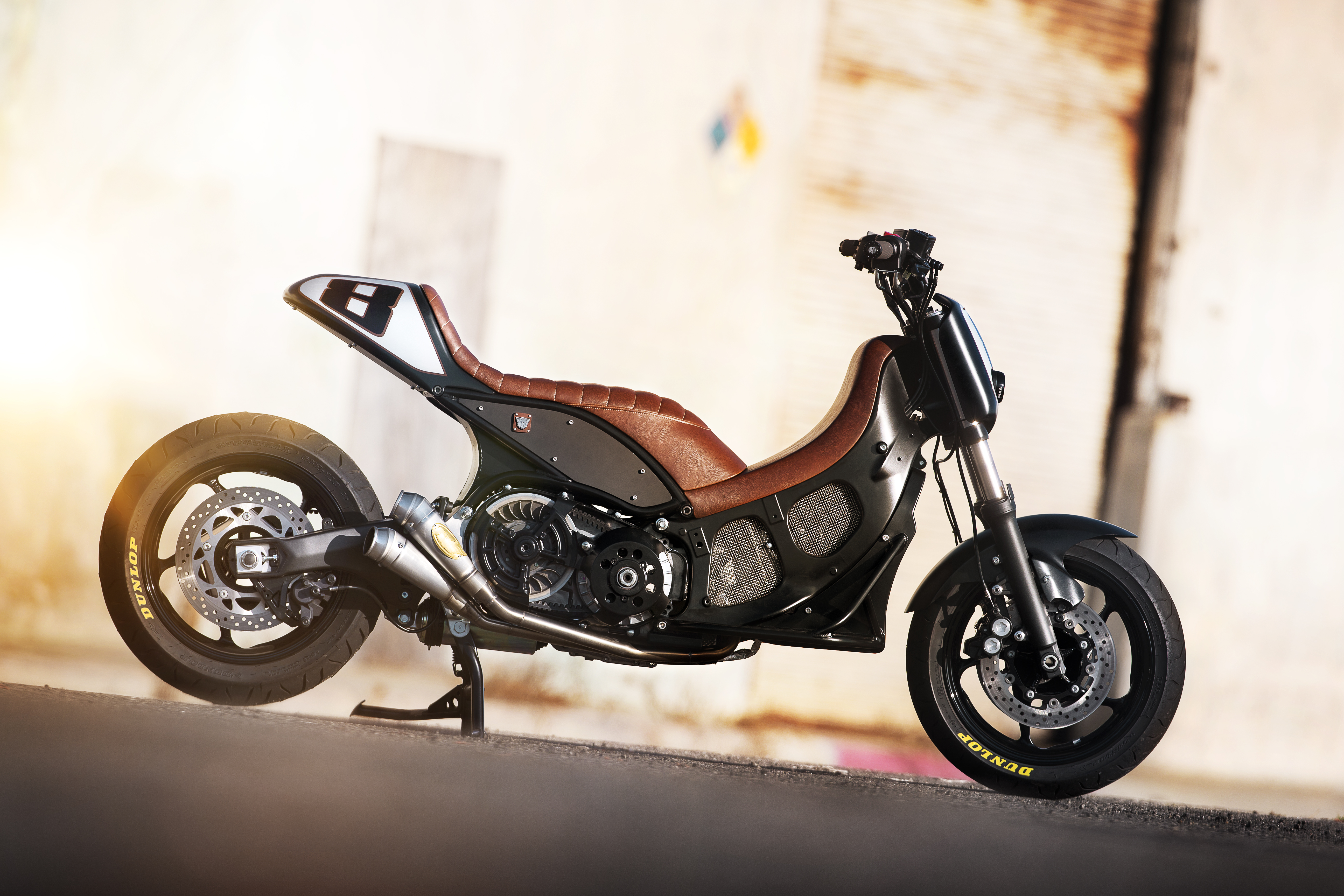 yamaha tmax hypermodified by roland sands. Black Bedroom Furniture Sets. Home Design Ideas