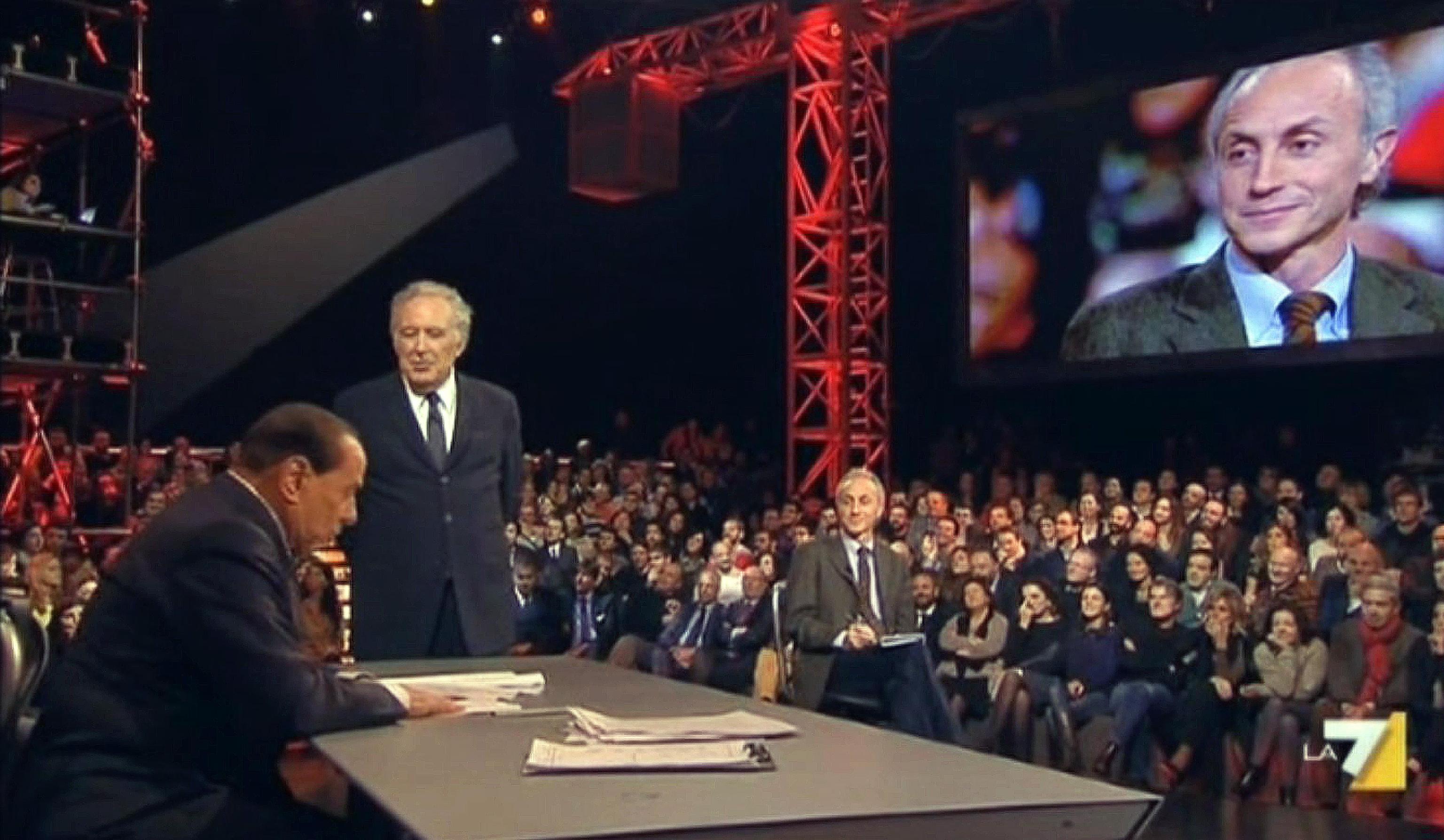 """La lezione di Berlusconi a Travaglio """"Dimostrato ¨ facile diffamare"""""""