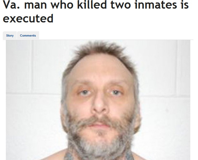 Usa primo giustiziato del 2013 con la sedia elettrica for Morte con sedia elettrica