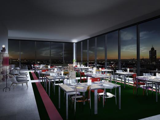 Una cena a 140 metri d 39 altezza ecco il ristorante di for Ristorante l isolotto milano