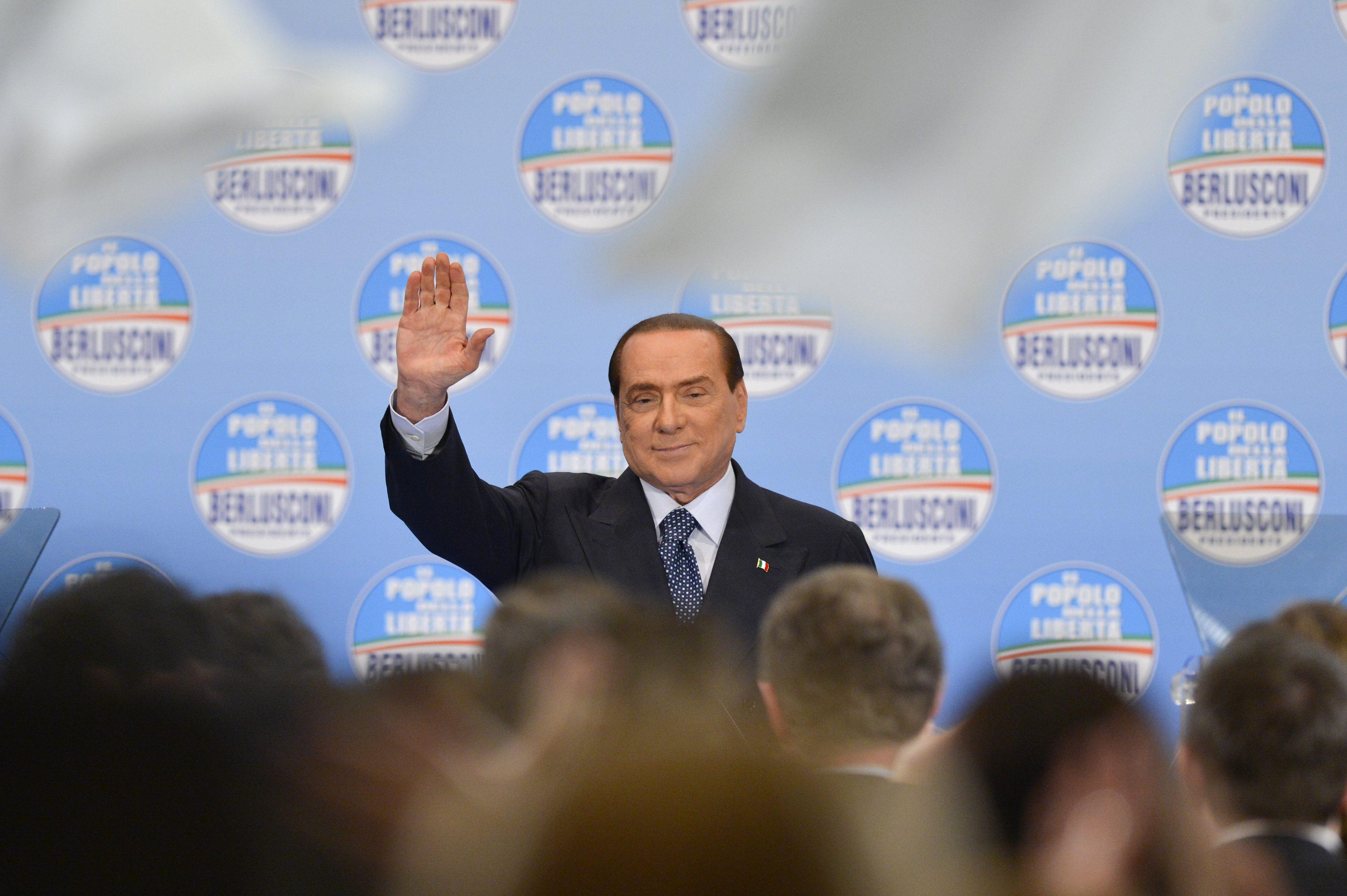 Berlusconi Restituiremo Limu Entro Maggio Berlusconi