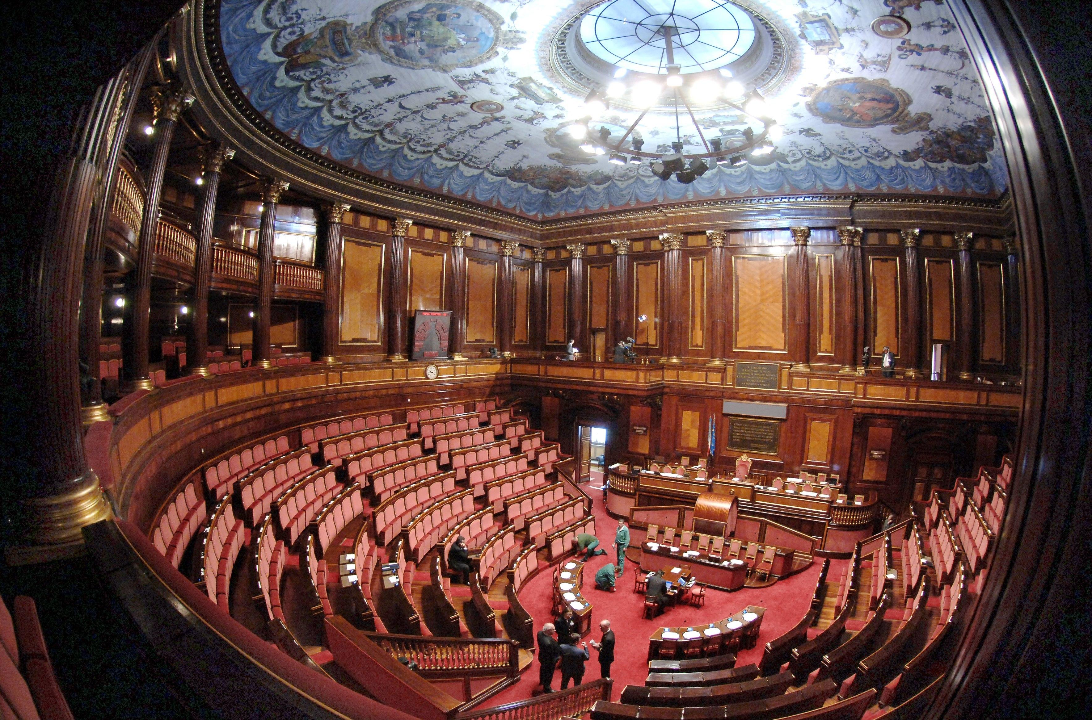 La scaletta per l 39 elezione del presidente del senato for Camera e senato