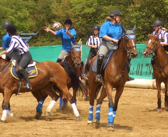 Torna l 39 horseball la partita di basket in sella ai cavalli - Cavalli allo specchio ...