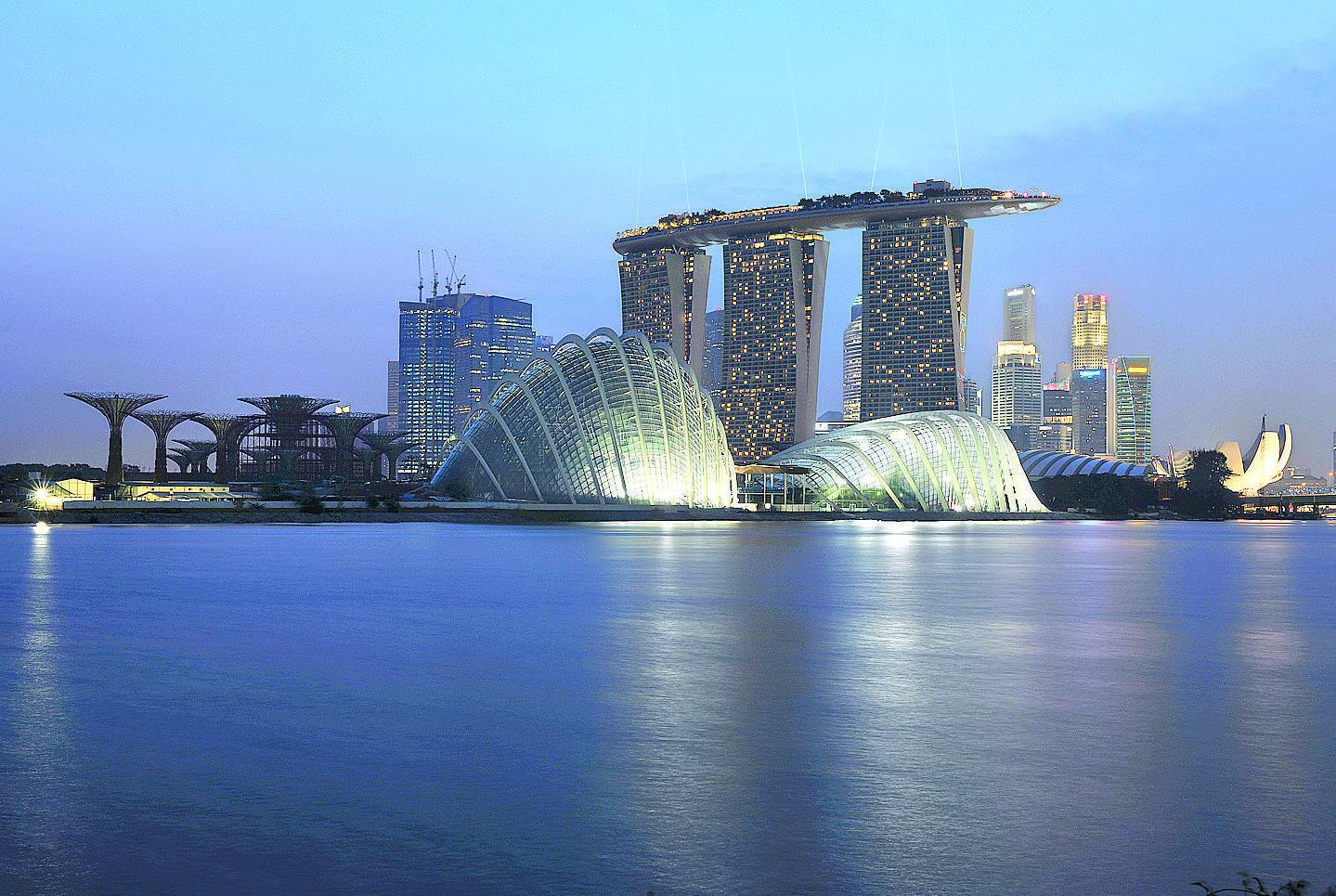 Grandi chef e giardini verticali singapore la capitale for La capitale dell arabia saudita