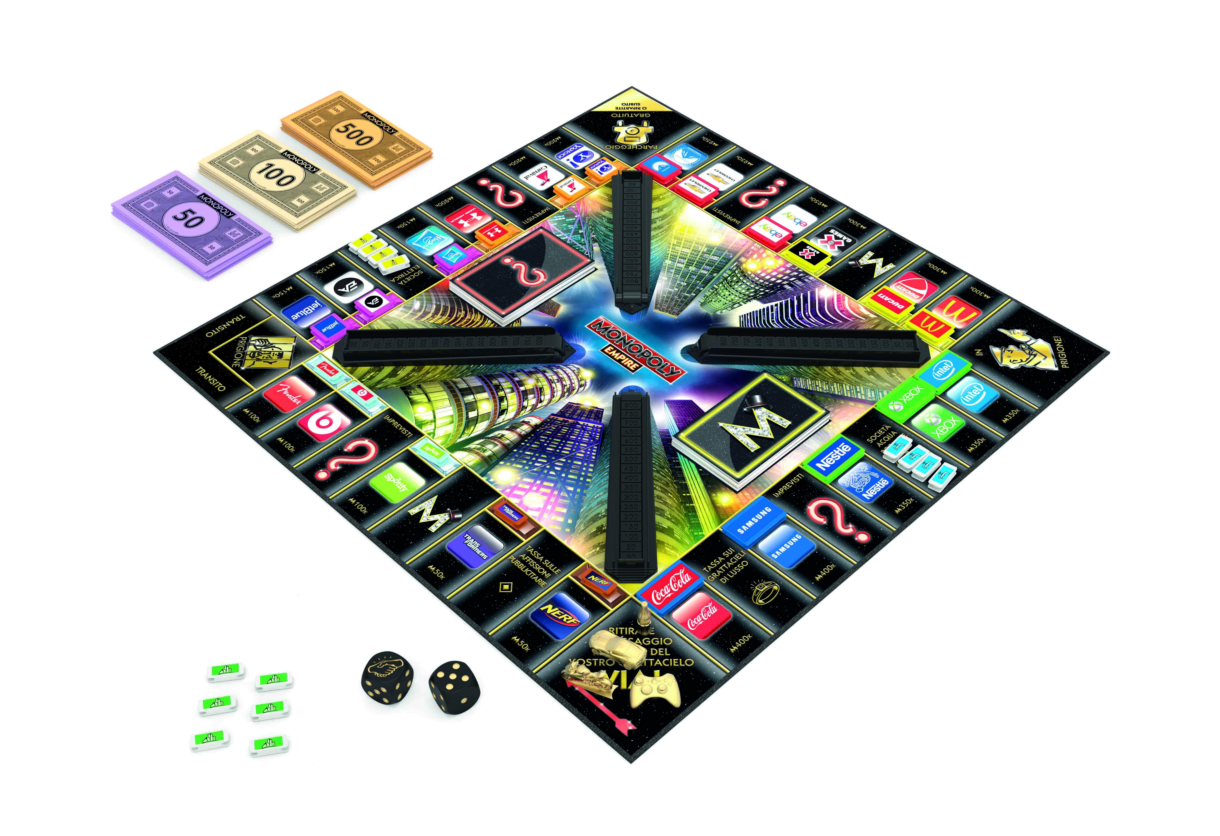 Arriva il nuovo monopoly empire che abbia inizio la sfida for Nuovo arredo monopoli