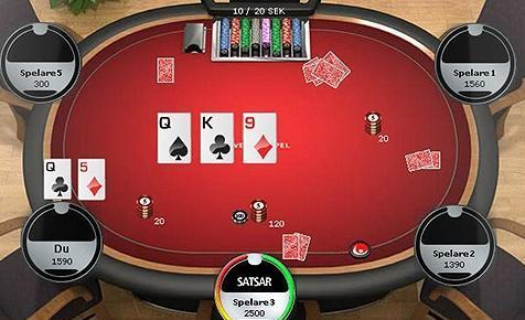 svenska spel poker ipad Bunkeflostrand