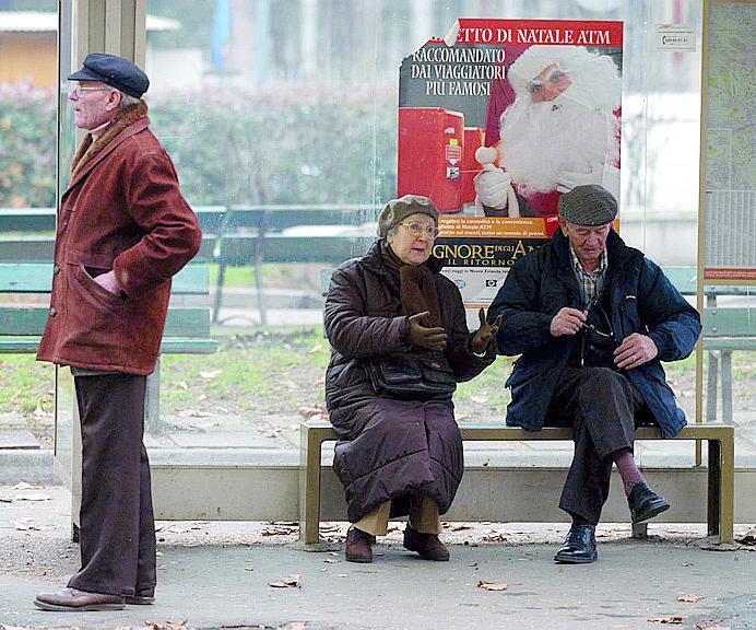 Gli anziani da cantiere e altri perché
