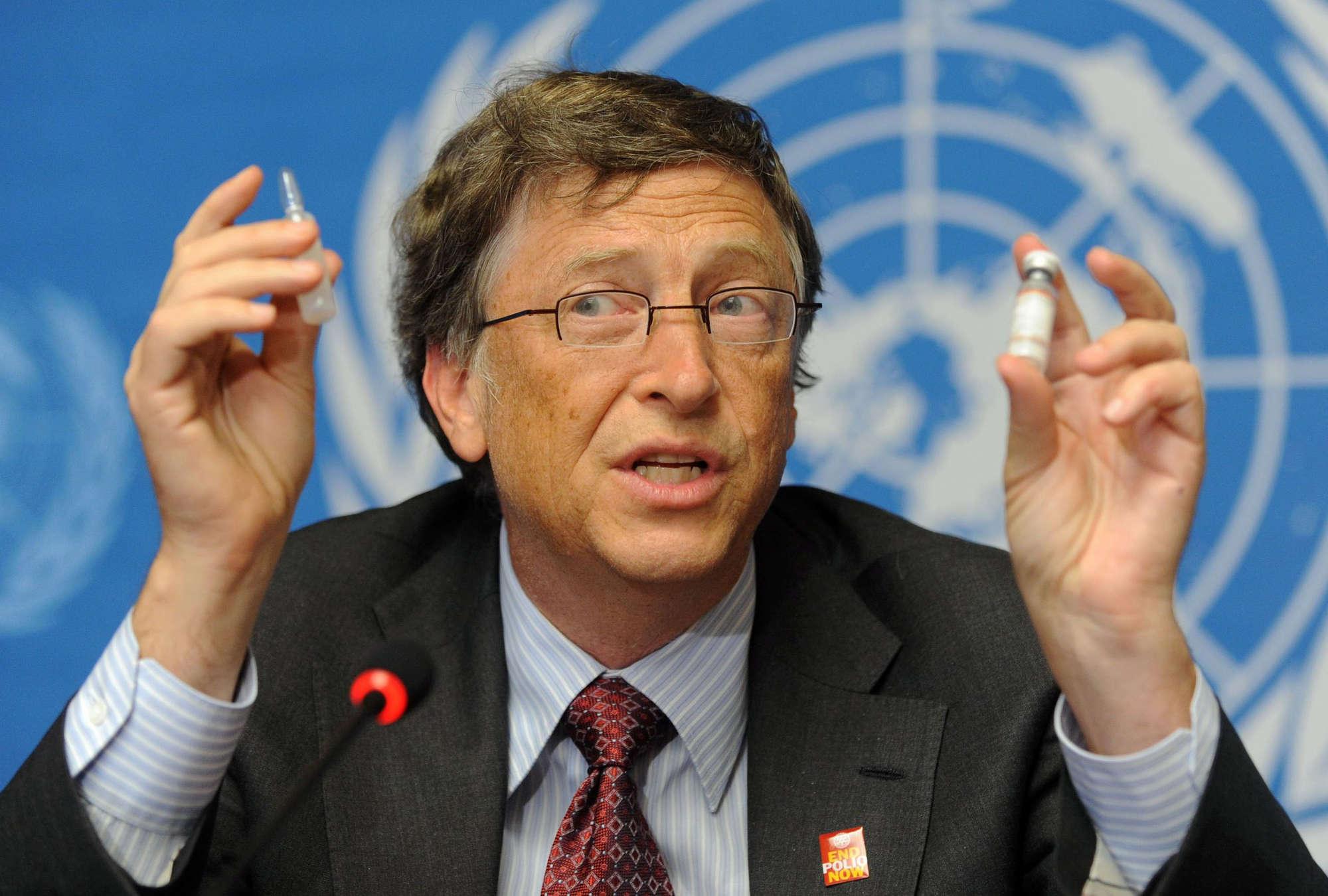 """Bill Gates: """"Il 95% dei soldi non mi serve. Meglio aiutare gli altri"""""""