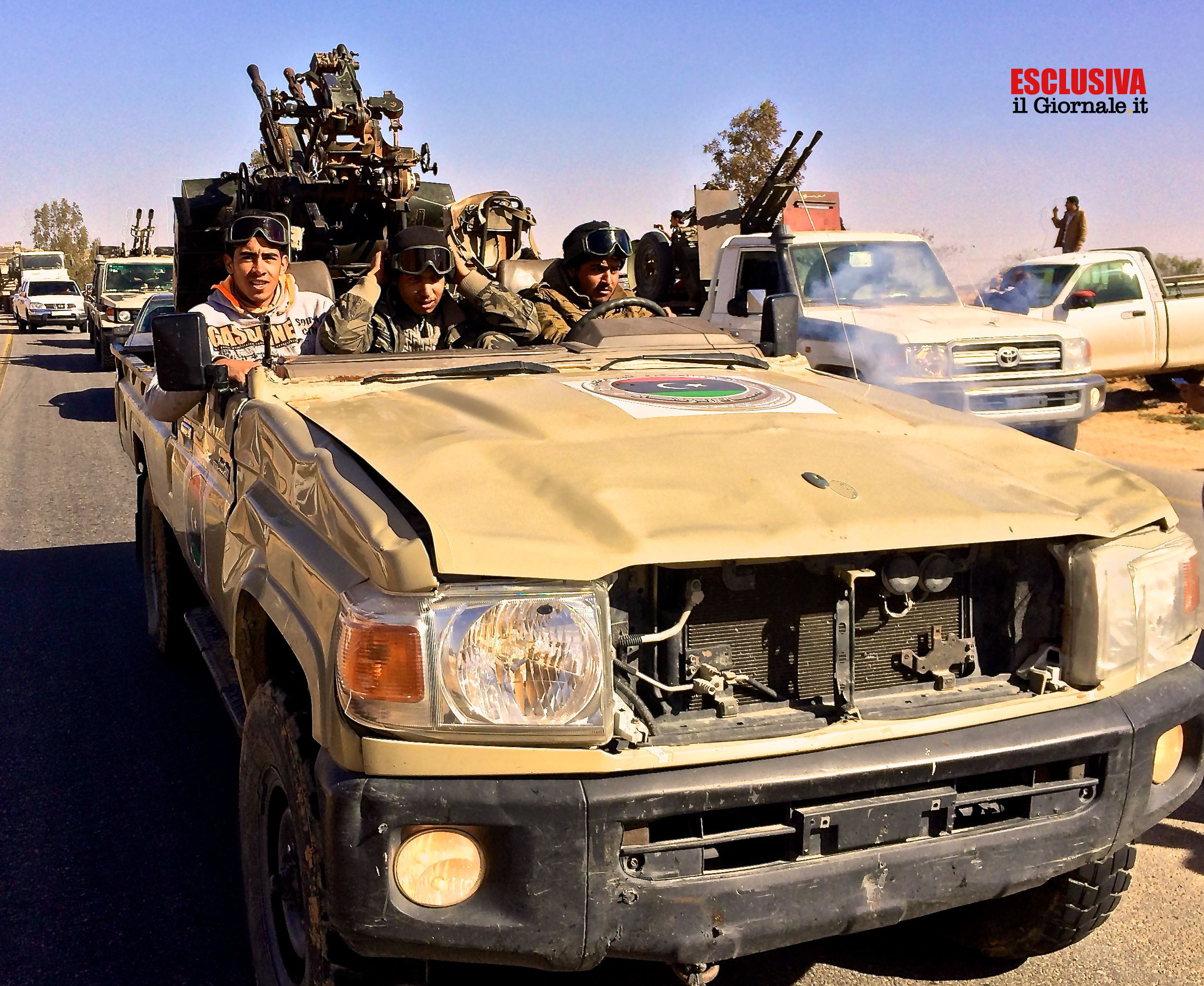 Libia, 7 febbraio: la grande paura - Gli occhi della guerra
