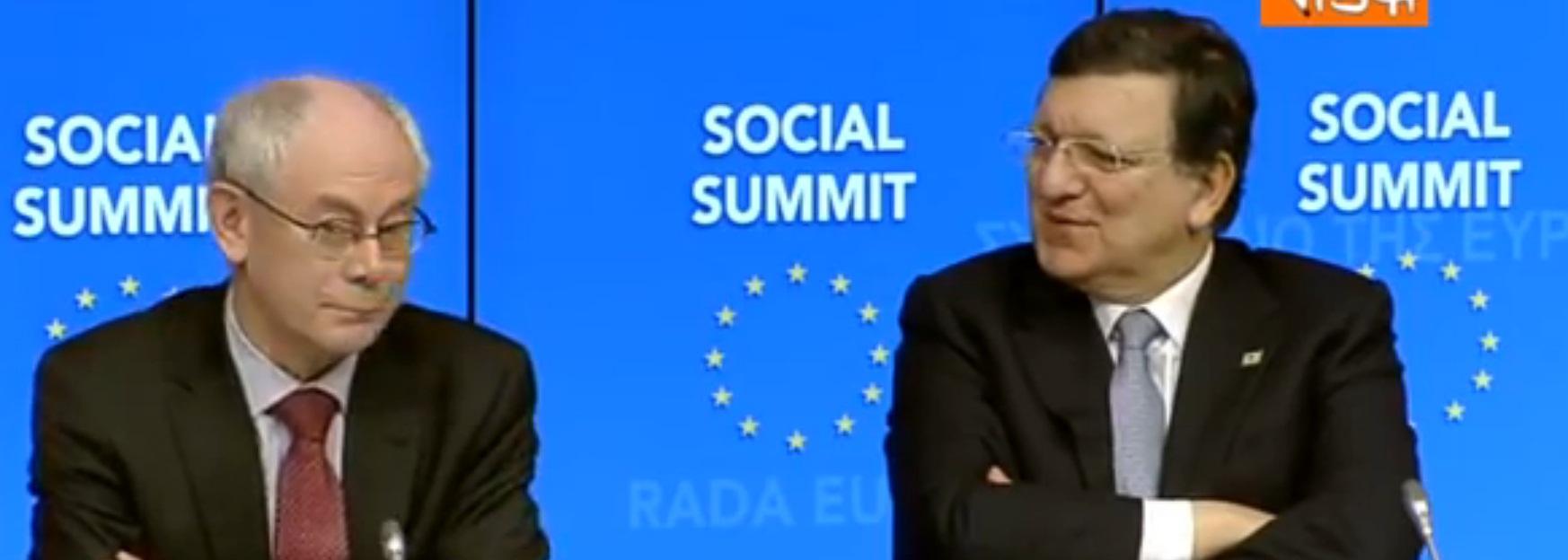Barroso, maxi prepensionamento: 7mila euro al mese