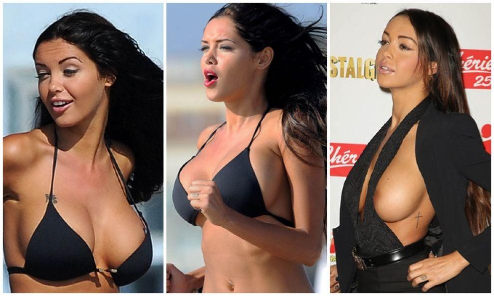 Видео где у знаменитостей выпадает грудь