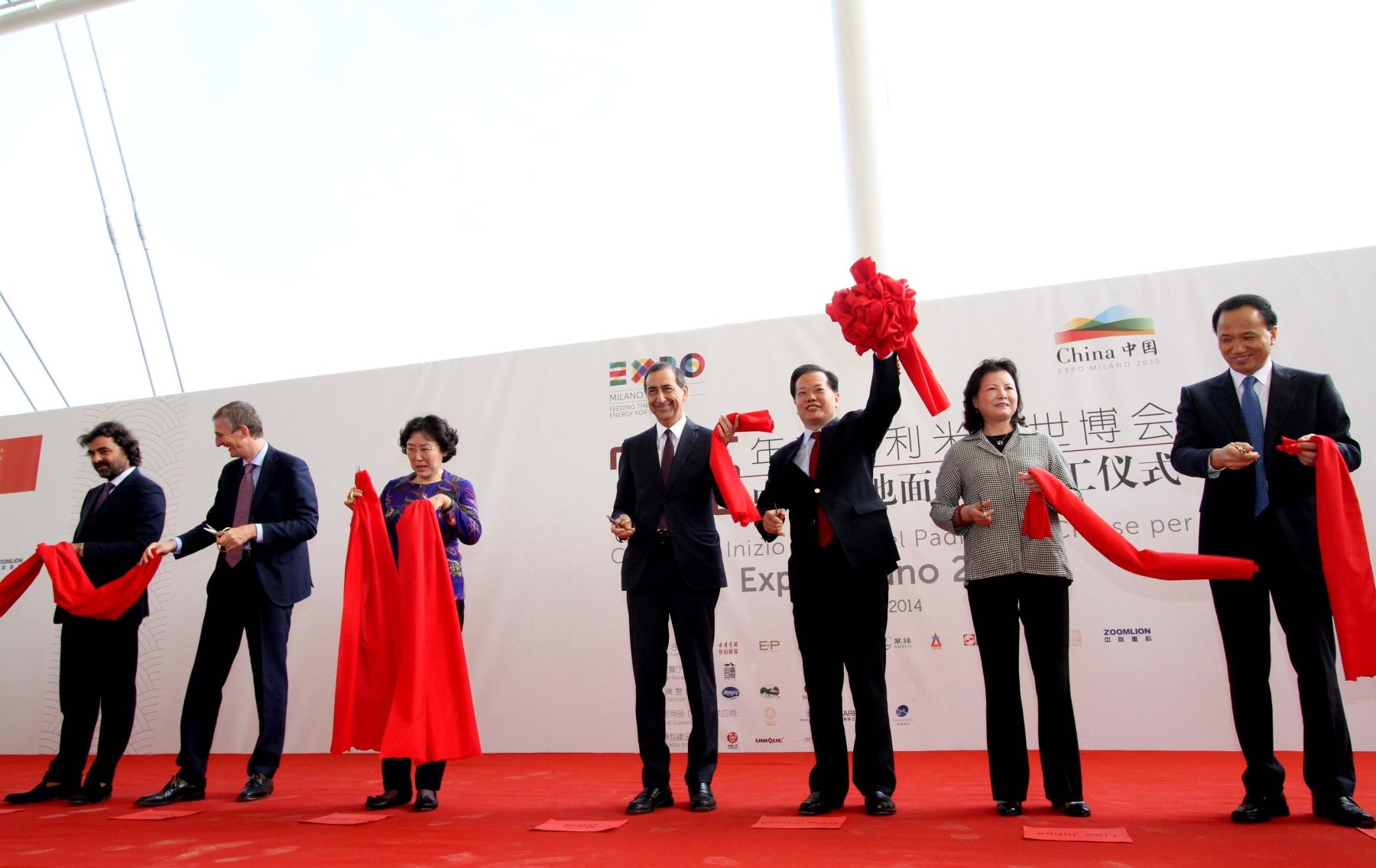 Cina da record a expo via al padiglione da 60 milioni di euro for Esposizione universale expo milano 2015