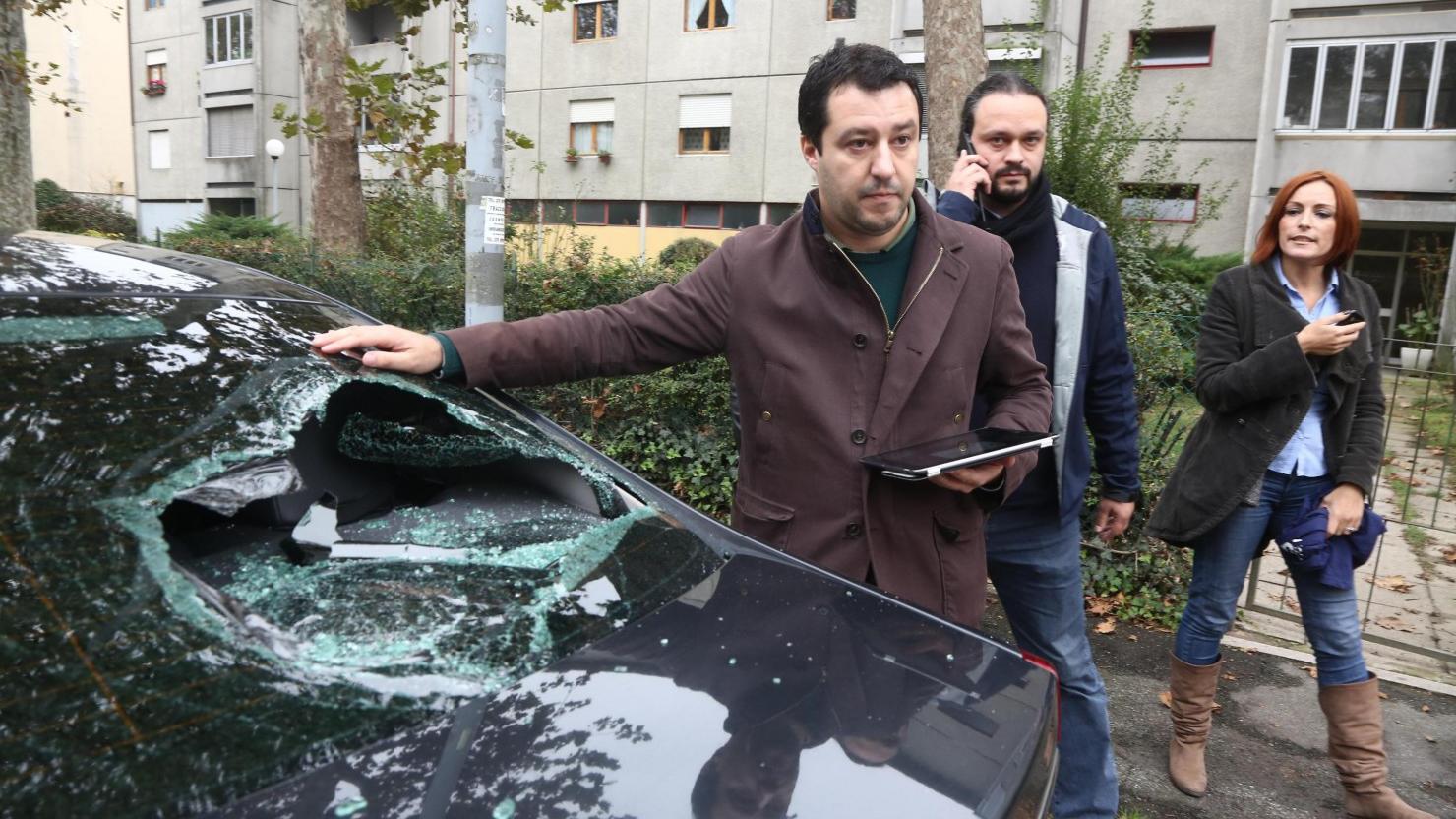 """Salvini, la versione della polizia per """"coprire"""" Alfano ..."""