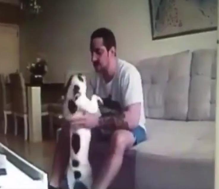 Piazza la telecamera in casa e scopre che il fidanzato for Casa progetta il trotto del cane