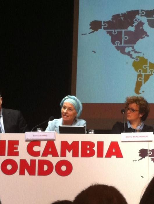 """Emma Bonino: """"Il cancro se n'è andato"""""""