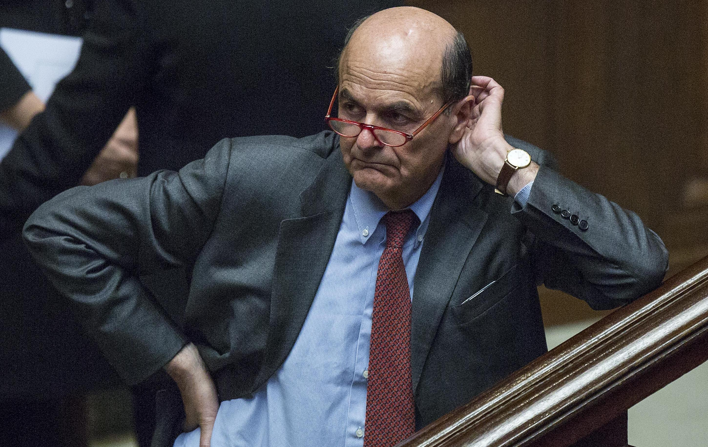 """Bersani: """"Io e Renzi abbiamo due idee opposte della democrazia"""""""