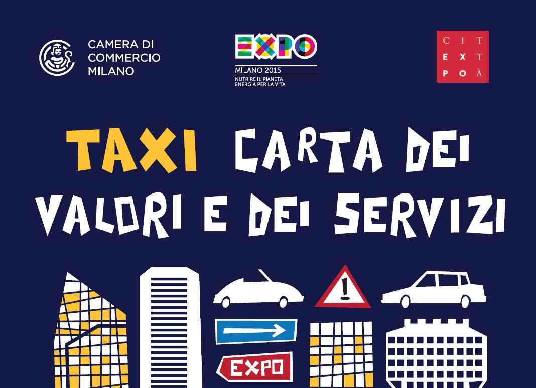 Taxi una carta dei valori per l 39 esposizione universale for Esposizione universale expo milano 2015