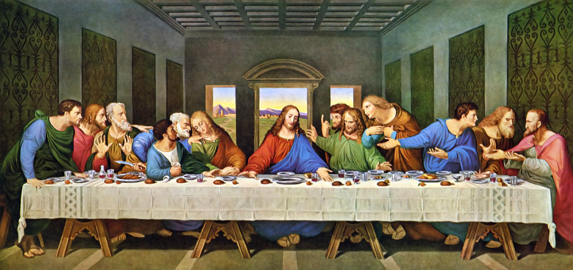 """L'ultima cena"""" di Leonardo da Vinci: il menù forse a base di pesce -  IlGiornale.it"""