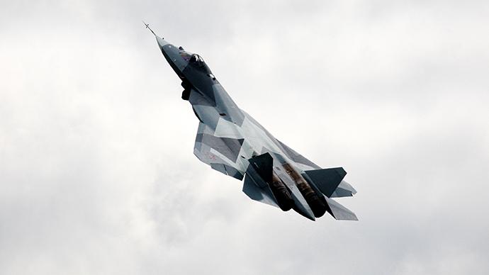 Aereo Da Combattimento Russo : Ecco il nuovo caccia di putin quot meglio quelli usa e