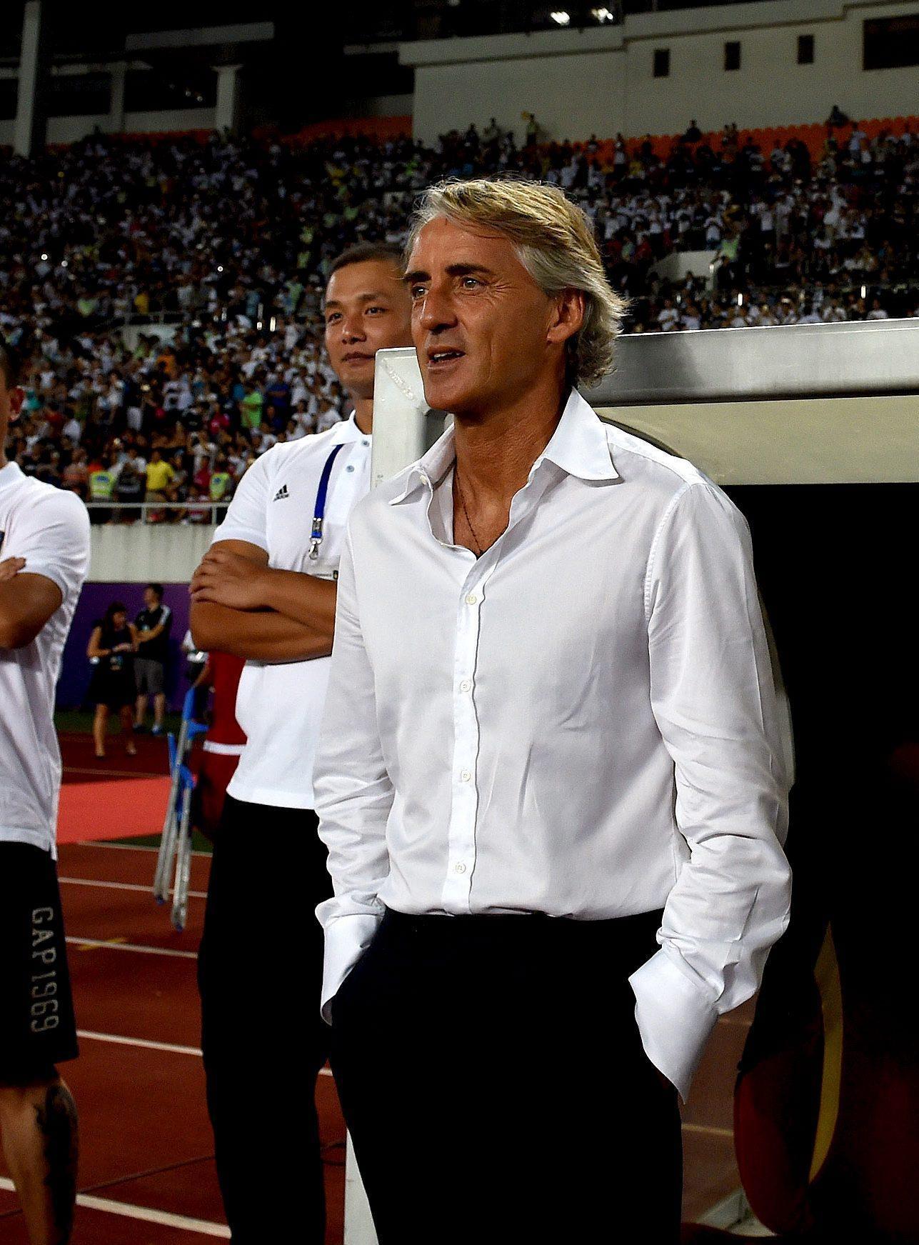 """Mancini ermetico: """"Inter? Non dico nulla. L'Inghilterra? Non c'è niente"""""""