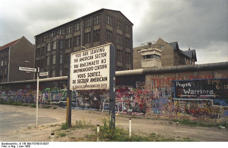 Che Germania sarebbe se esistesse ancora il Muro di Berlino