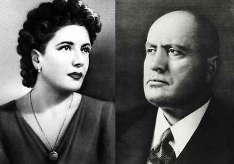 La prima tragica notte di Benito e Claretta
