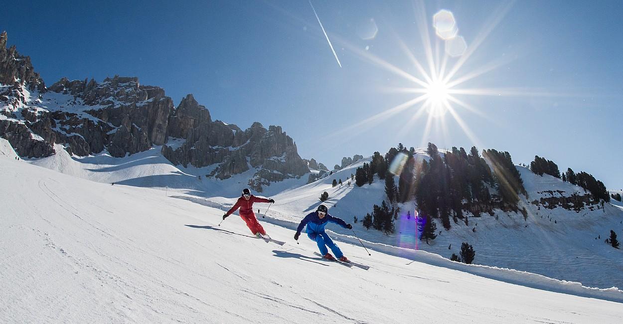 1456920567 pista ski center latemar Ski Center Latemar si scia fino al 17 aprile con festa finale