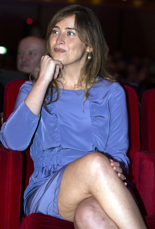 Si intravedono le gambe: Boschi tradita da cellulite - IlGiornale.it