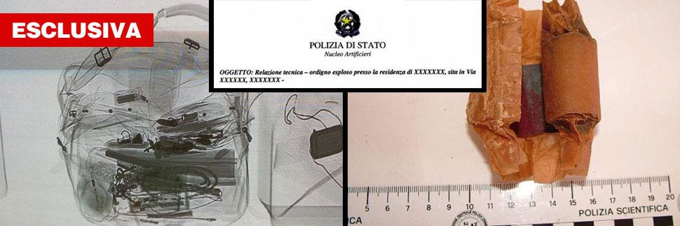 Il terrorismo in italia ecco le bombe fai da te trovate dagli artificieri - Allarme casa fai da te ...