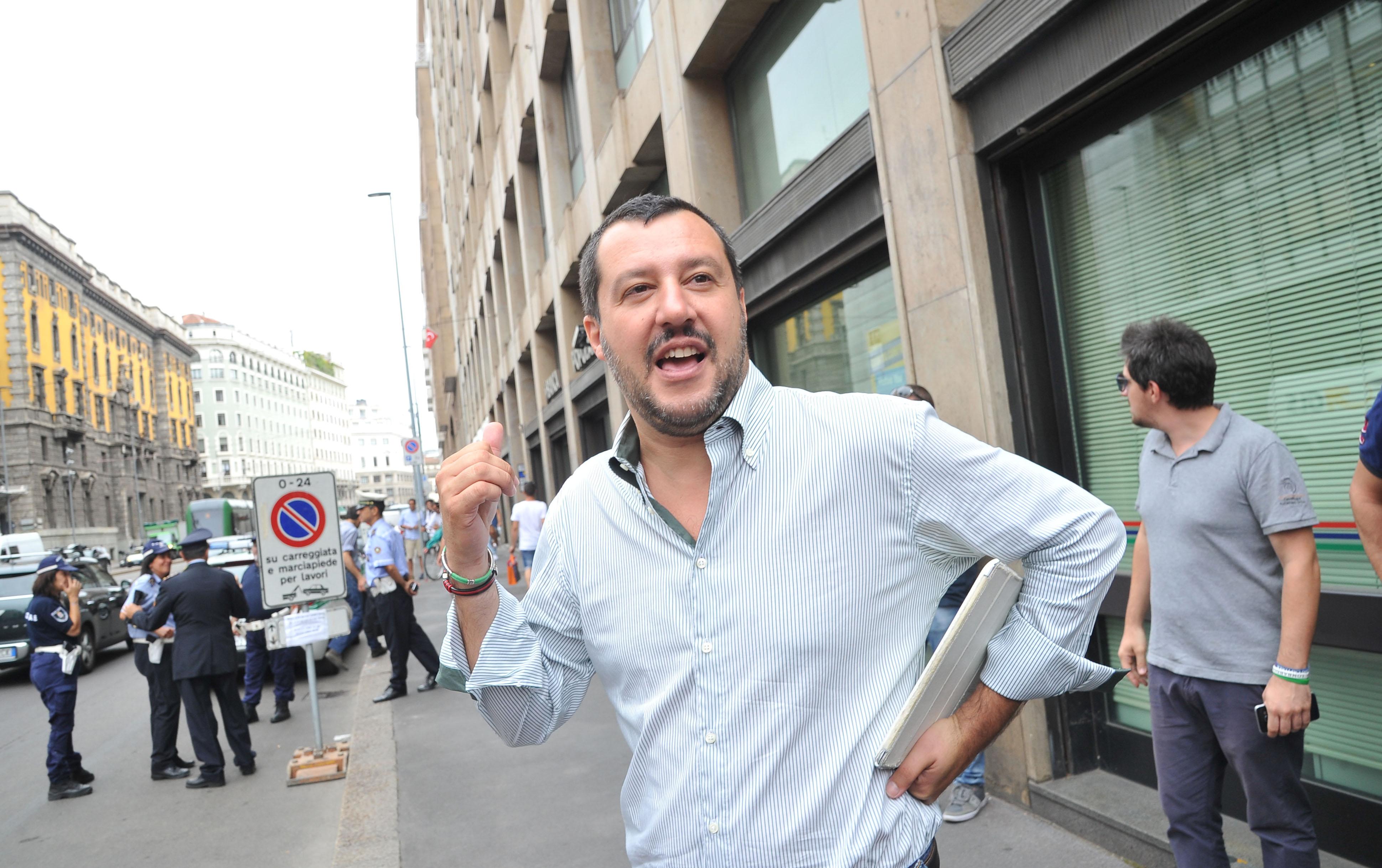 "Salvini contro Assolombarda: ""Asserviti a Renzi"""