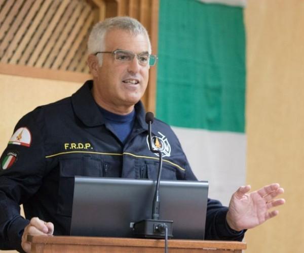 Triozzi, super-pompiere Usa dall'11 settembre ad Amatrice