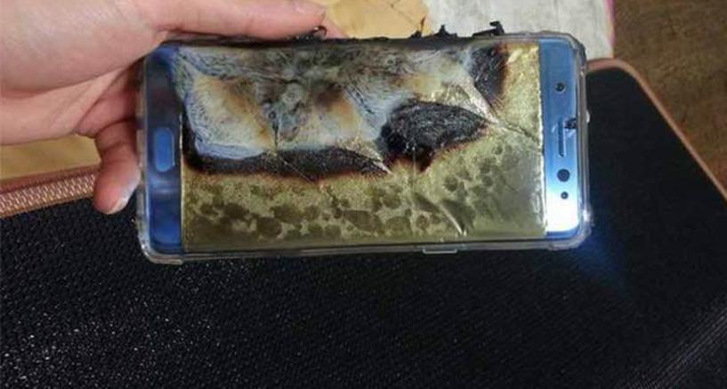 Samsung scopre il difetto delle batterie esplosive del note 7 for Mercato del mobile usato milano