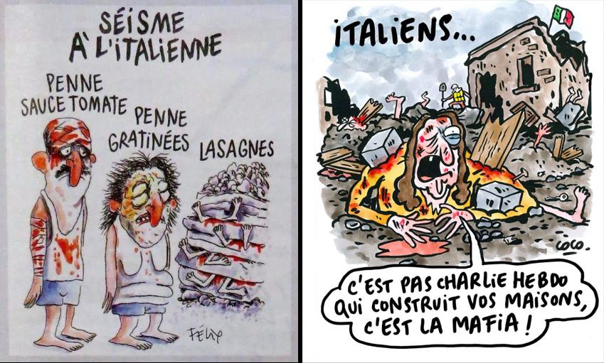 La vignetta di Charlie Hebdo non mi piace, ma difendo la libertà di espressione