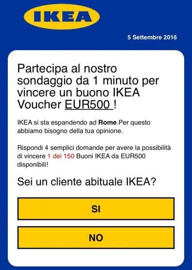 """Attenzione alla truffa su WhatsApp: """"Ikea non regala nessun buono"""""""