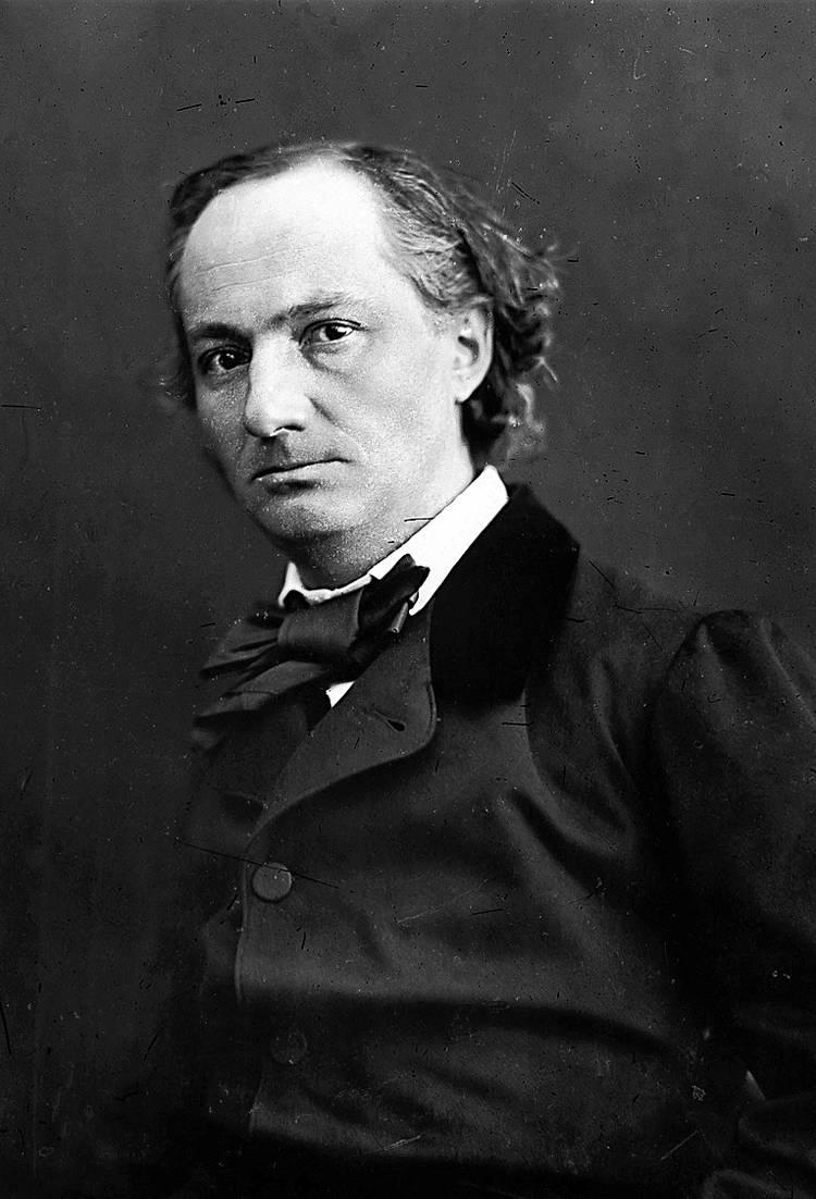 I fiori del bene di Baudelaire santo patrono della poesia