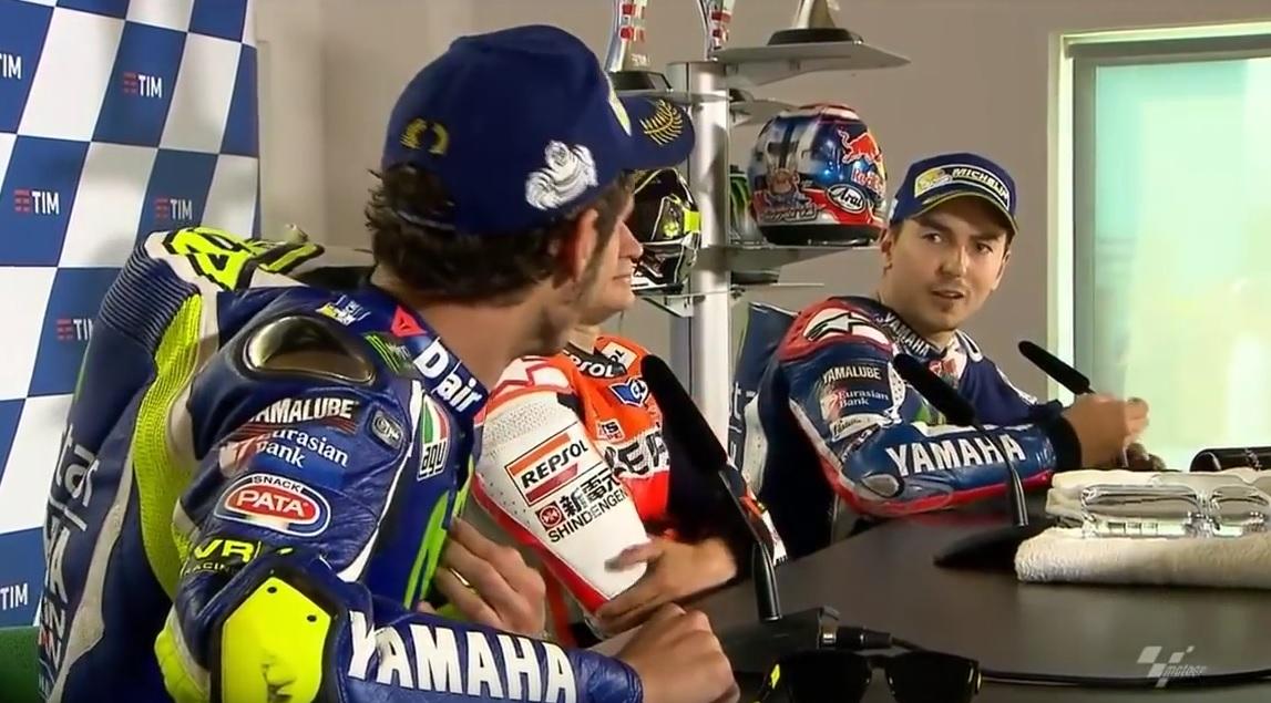 """""""Non ridere, rispettami"""", """"Ma Che dici?"""". Clamorosa lite Rossi-Lorenzo"""