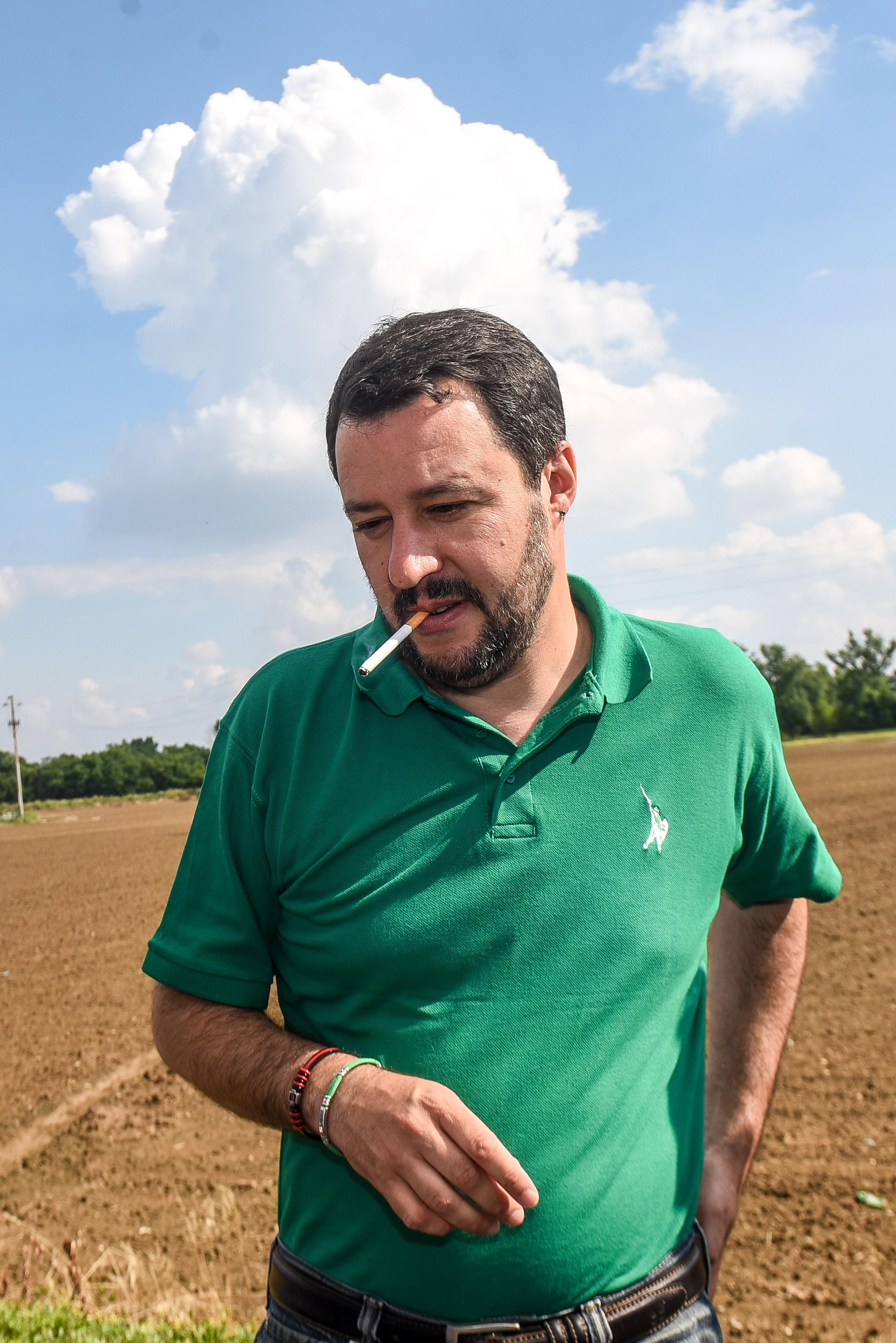 Pontida, asse Lega-Forza Italia Prove di coalizione unita
