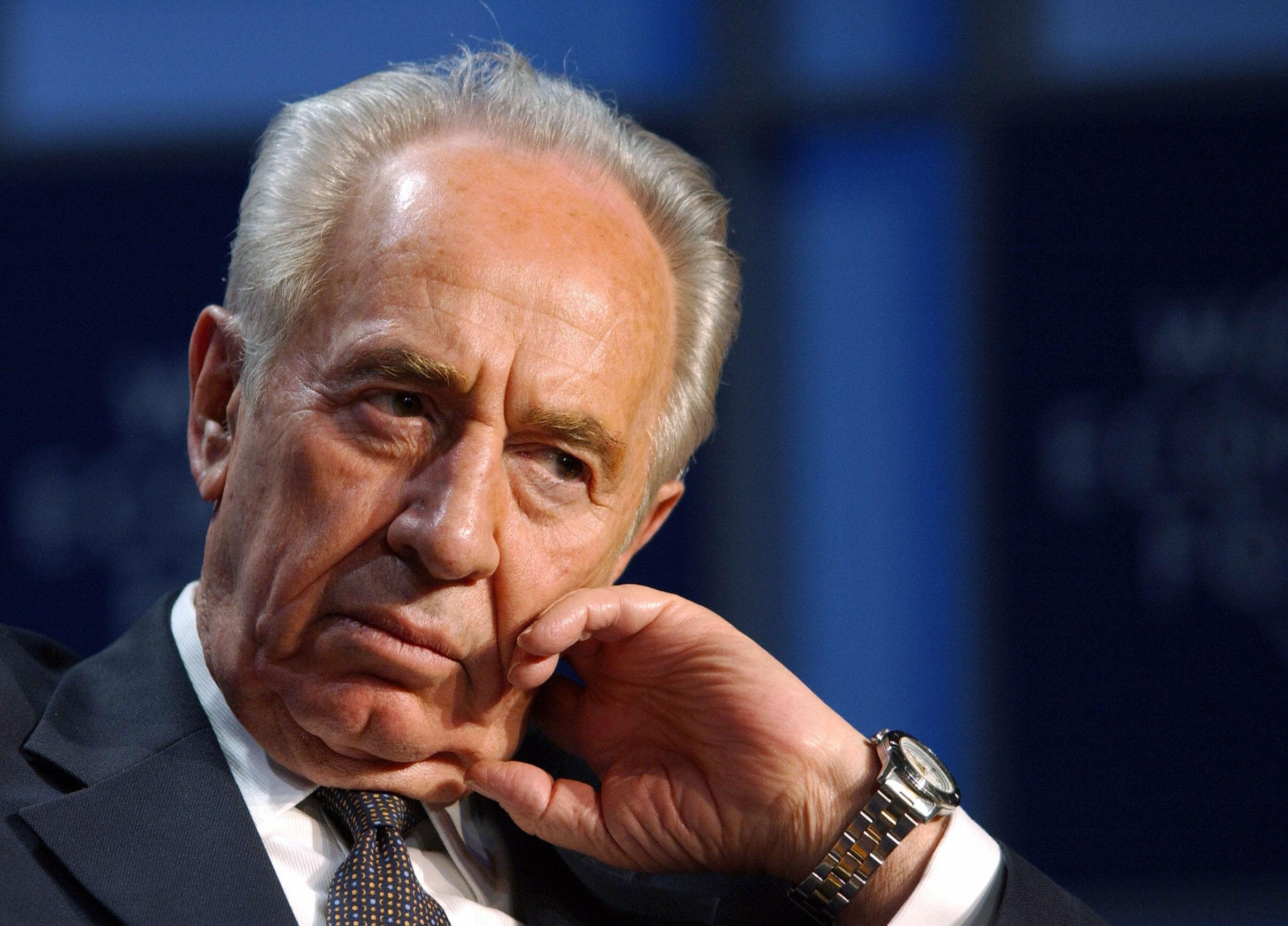 È morto Shimon Peres, colonna dello stato di Israele